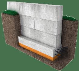 фундамент из блоков фбс блочный